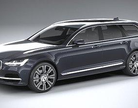 Volvo V90 Estate 2020 3D