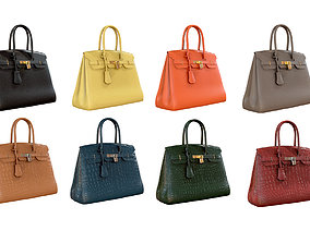 Hermes Birkin Bag 3D PBR