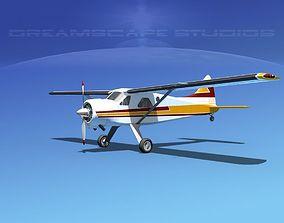 3D model Dehaviland DH-2 Beaver SL13