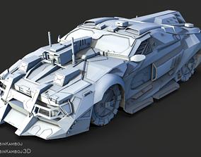 Cyber Car 3D model