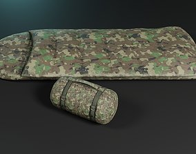 3D asset realtime Sleeping bags 2 color options