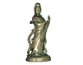 Goddess of Mercy 3D printable model 3D model