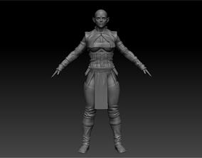 Dark Elf For Fantasy 3D model