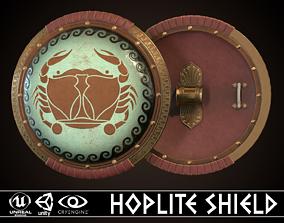 3D asset Hoplite Shield Crub