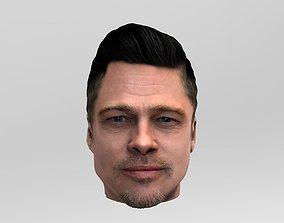 Brad Pitt 3D model