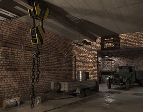3D Garage barrel