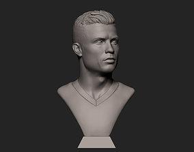 3D print model miniatures Cristiano Ronaldo