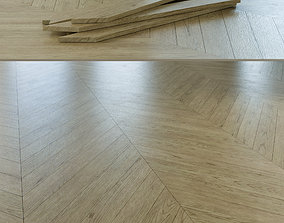 Chevron Rustic Oak Wood Floor 003 3D