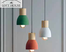Hanging lamp LOFT HOUSE P-178 3D model