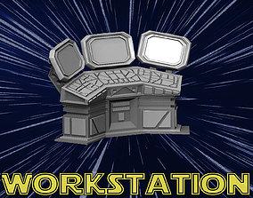 Workstation 3D printable model