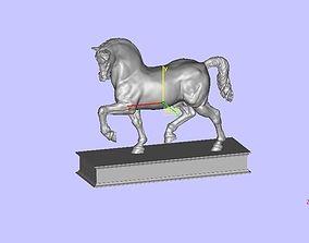 3D print model Leonardo da Vinci horse
