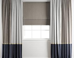 3D model Curtain 177