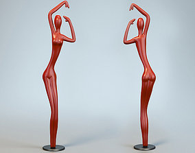 3D print model Sculpture Dance Woman P