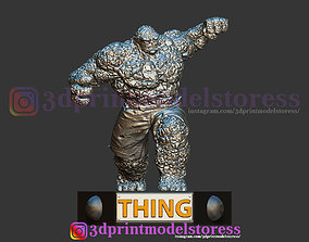 3D print model The Thing Marvel - Fantastic Four Statue 3