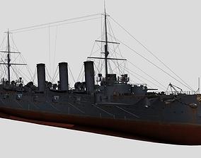 3D Russian cruiser Bogatyr