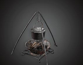 3D asset Cooking Pot - MVL - PBR Game Ready
