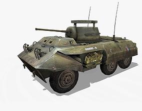 3D model M8 Greyhound Tank