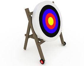 Archery Target bowman 3D model