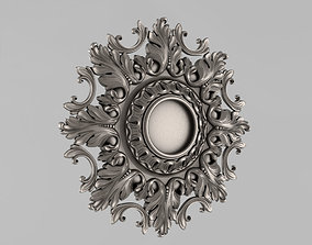 3D print model classical Decor Rosettes