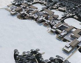 Waterfront Commercial Complex 3D