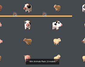 3D Mini Animals Pack