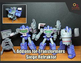 Addons for Transformers Siege Refraktor 3D print model