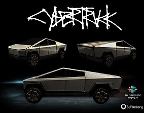 Tesla Cybertruck - 3dPrintable - 3dFactory