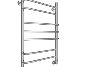 3D model towel rail bath