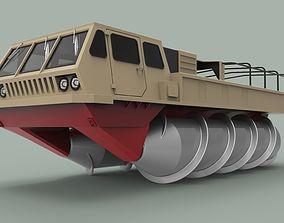 3D model Screw terrain vehicle ZIL-4904