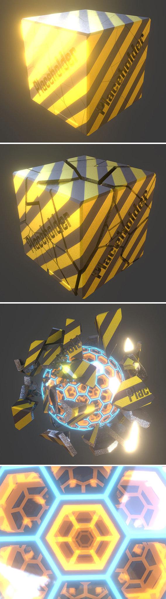 Placeholder Cube Version 1