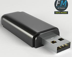 USB pen drive 3D model
