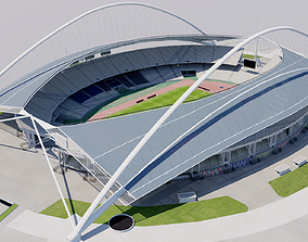 3D Athens Olympic Stadium - Greece