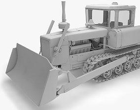 Tracktor DT-75 3D model