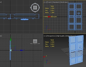 Middle Eastern Door 3D asset