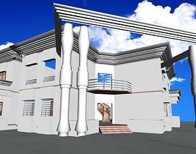 Duplex house 3D