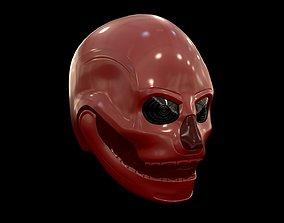 Skull Helmet 3D model