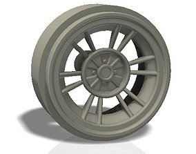 6 double spokes rim - llanta 3D print model