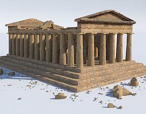 ancient 3D model Parthenon