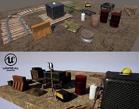 Mine Assets Pack 3D model