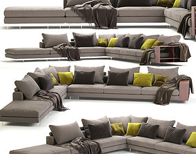 Flexform Lightpiece Modular Sofa 3D model