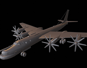 3D printable model TU 95MS BEAR H