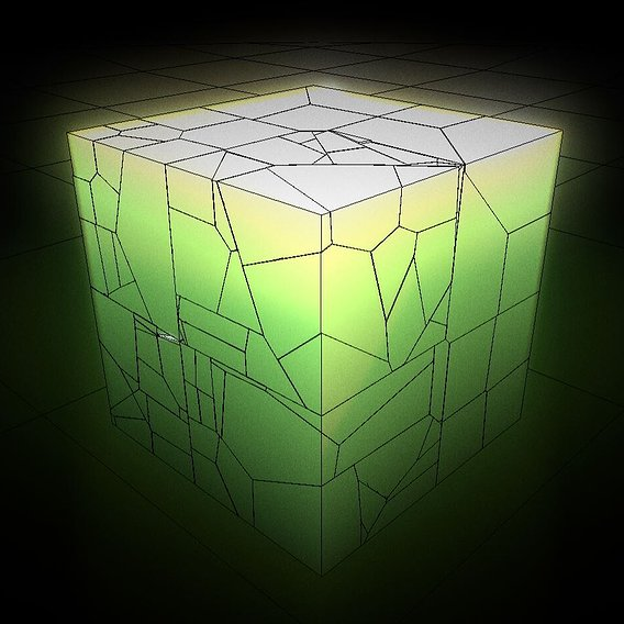 Placeholder-Cube-Green (Blender-2.93)  rigid-body animation