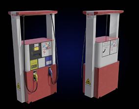 3D asset Fuel dispenser gas pump