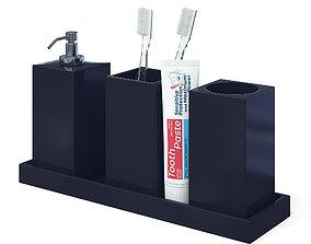 cup Bathroom Accessories 3D
