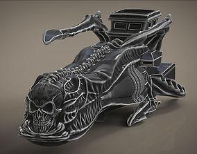 Arcadia Harlock ship box casket 3D printable