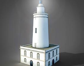 La Farola Lighthouse 3D asset