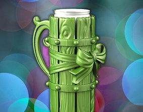 3D print model Christmas beer mug