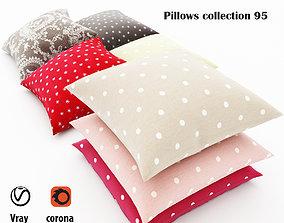 Pillows collection 95 3D
