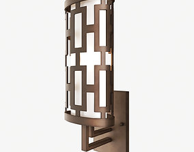 Fine Art Lamps River Oaks 843481 Wall Light 3D model
