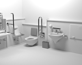 handwash Bathroom 3D